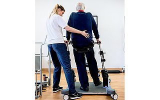 Balancetraining in der Reha